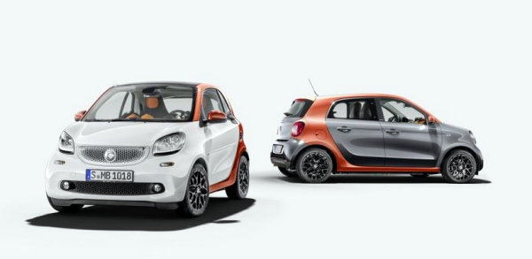 Nuevos Smart Fortwo y Smart Forfour
