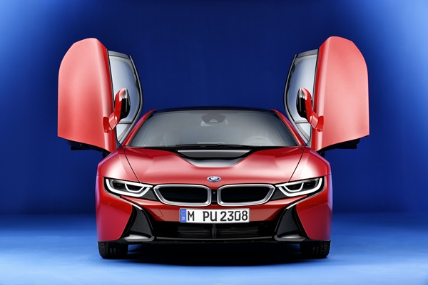 BMW i8 Protonic Red Edition 2302-2