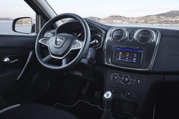 Dacia Sandero Interior 2017 0112