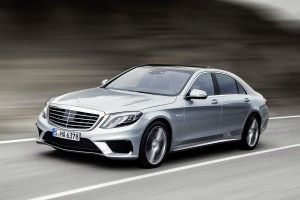 Mercedes Clase S 63 AMG confort a toda máquina