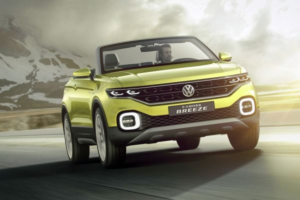 VW T-Cross Breeze Concept 2016