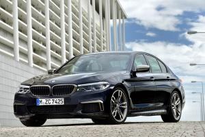 Nuevo BMW M550iA xDrive, se completa la nueva gama de la Serie 5 con la versión más potente