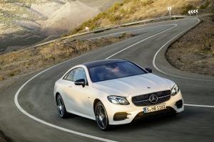 Mercedes-Benz Clase E Coupé 2.017, la nueva generación aumenta su talla