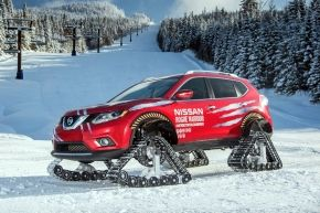 Nissan X-Trial Rouge Warrior 2016