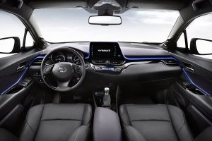 Interior Toyota C-HR