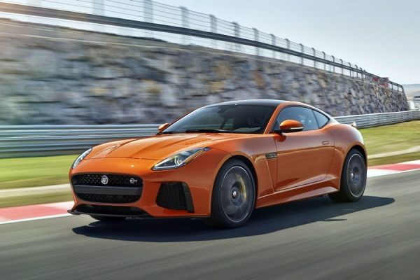 Jaguar F-Type SVR 2016 Coupe