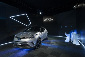 Toyota C-HR Launch Edition 2016