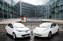 Nissan-Renault y Microsoft se alían