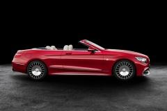 Mercedes-Maybach Clase S Cabrio 2017, fotografías generales