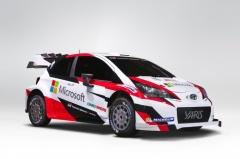 Toyota con Microsoft en el Mundial de Rallyes