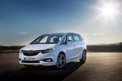 Opel Zafira 2016, fotos generales