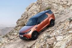 Land Rover Discovery 2017, fotografías exteriores