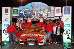 Mitsubishi Campeón de España de Rallyes con Cristian García