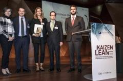 """ARVAL reconocida con el galardón """"Excelencia en la Calidad"""" de los premios Kaizen Lean 2016"""