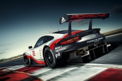 Porsche 911 RSR fotografías generales